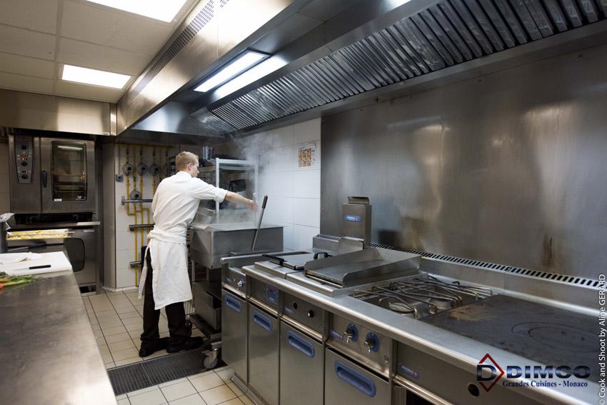 Cuisines professionnelles conception installation et for Amenagement cuisine professionnelle restaurant